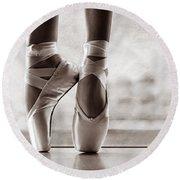 Shall We Dance Round Beach Towel by Laura Fasulo