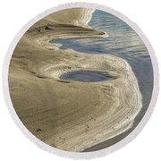 Shoreline Round Beach Towel