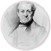 Sir Charles Wheatstone (1802-1875) Round Beach Towel
