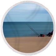 Slapton Sands Round Beach Towel