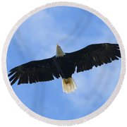 Soaring High 2 Hdr Round Beach Towel