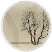 Stands Alone Round Beach Towel
