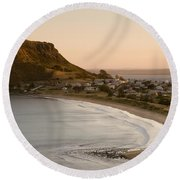 Stanley Tasmania Round Beach Towel