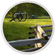Stones River Battlefield Round Beach Towel