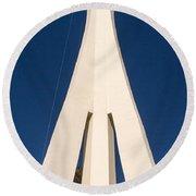 Stratosphere Las Vegas Round Beach Towel