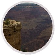 The Grandest Of Canyons Round Beach Towel
