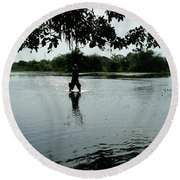 The Pantanal Round Beach Towel