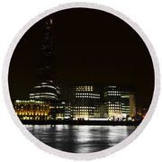 The South Bank London Round Beach Towel
