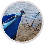 Tide's Out 3 Round Beach Towel
