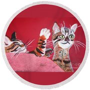 2 Tora's Round Beach Towel