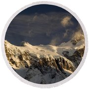 Torres Del Paine, Chile Round Beach Towel