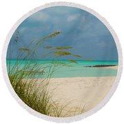 Treasure Cay Round Beach Towel