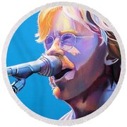 Trey Anastasio Round Beach Towel