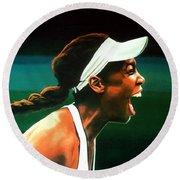 Venus Williams Round Beach Towel