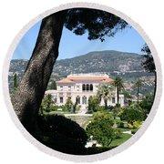 Villa Ephrussi De Rothschild Round Beach Towel