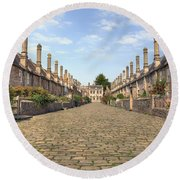 Wells Round Beach Towel