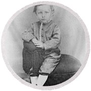 Wilbur Wright (1867-1912) Round Beach Towel