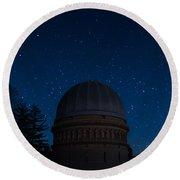 Yerkes Observatory Wisconsin Round Beach Towel