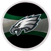 Philadelphia Eagles Round Beach Towel