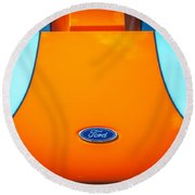 2004 Ford Gt40 Round Beach Towel