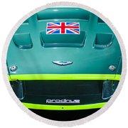 2005 Aston Martin Dbr9 Round Beach Towel