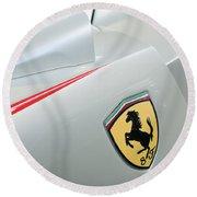 2005 Ferrari Fxx Evoluzione Emblem Round Beach Towel