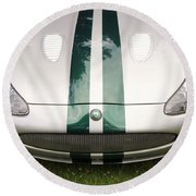 2005 Jaguar Xkr Stirling Moss Signature Edition Round Beach Towel
