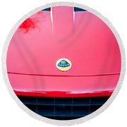 2006 Lotus Grille Emblem -0012c Round Beach Towel