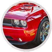2013 Dodge Challenger Round Beach Towel