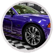 2013 Dodge Charger Round Beach Towel