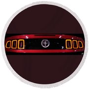 2013 Ford Mustang Round Beach Towel