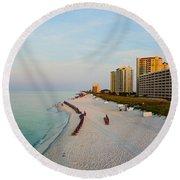 2014 08 05 01 Navarre Beach 100 Round Beach Towel