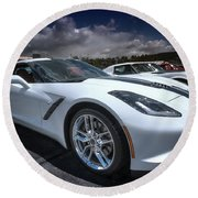 2014 Chevrolet Stingray Round Beach Towel