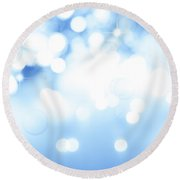 Abstract Background Round Beach Towel
