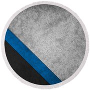 Carolina Panthers Round Beach Towel
