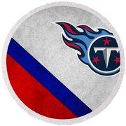 Tennessee Titans Round Beach Towel