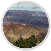 Grand Canyon National Park Round Beach Towel