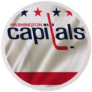 Washington Capitals Round Beach Towel