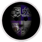 Los Angeles Kings Round Beach Towel