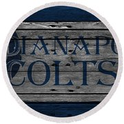 Indianapolis Colts Round Beach Towel