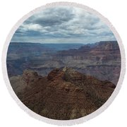 Grand Canyon National Park Round Beach Towel