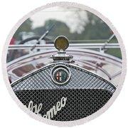 1931 Alfa Romeo Round Beach Towel