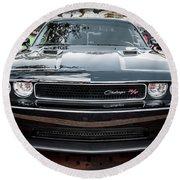 2013 Dodge Challenger  Round Beach Towel