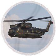 A Ch-53gs Of The German Army Round Beach Towel