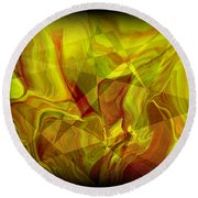 Abstract 27 Round Beach Towel