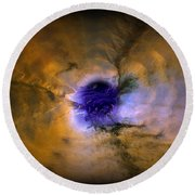 Abstract 82 Round Beach Towel by J D Owen