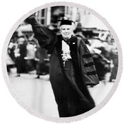 Anna Howard Shaw Round Beach Towel