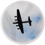 Battle Of Britain Memorial Flight Round Beach Towel