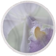 Beauty In A Whisper Round Beach Towel