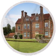Breamore House Round Beach Towel